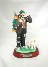 "Emmet Kelly Jr Professional Series Figurine, ""The Golfer"" #9633"