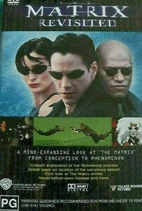 THE MATRIX REVISITED DVD Documentary Movie Filmaking Process Doco