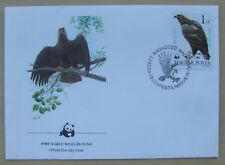 1983 Hungary First Day Cover WWF Imperial Eagle stamp
