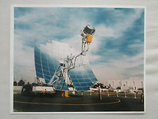 6/1985 PHOTO PRESSE MCDONNELL DOUGLAS DISH STIRLING SOLAR POWER SYSTEM
