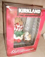 Kirkland Signature Ornament - Bear Pushing Stroller - Very Nice Shape