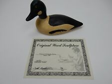 "Limited Edition Hand carved  Golden Eye  ""Classic"" John Mullican 1986, 8"""