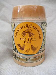 Bierkrug Kleintierzüchterverein seit 1911, Sitzendorf , Erntekrug