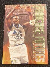 1995-96 Fleer Franchise Futures #7 Shaquille Shaq O'Neal Basketball Card