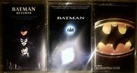 LOT OF 3 BATMAN ORIGINAL MOTION PICTURE SOUNDTRACK CASSETTE TAPES RETURNS MOVIE