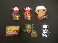Fear & loathing Hunter S Thompson Stewie Griffin Lapel pin Dancing bear custom