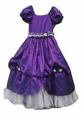 Size 10 Purple PRINCESS PAGEANT Fairy PRINCESS Formal Wedding Dress GIRLS VGC