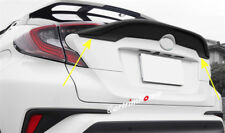 1pc Black Rear Tail Aero Wing Spoiler Cover Trim  For Toyota C-HR 2016 2017