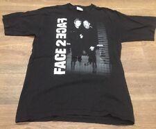 Billy Joel Elton John Face 2 Face 2002 Concert Tour Adult Large T-Shirt