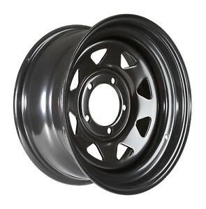Black steel rim 16x7 XF ET-15 5x139,7 CB 108 Suzuki, Uaz, Daihatsu
