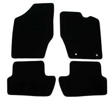 Peugeot 307 2001-08 Fully Tailored Deluxe Car Mats in Black