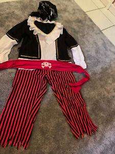 Piratenkostüm Größe 38, 6 Teile
