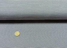 Baby Stripes grau Baumwoll Jersey Kinderstoff Streifen 25 cm Streifenstoff