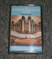 The Mormon Tabernacle Choir~Songs of Faith~Cassette~SEALED/NEW~FAST SHIPPING!