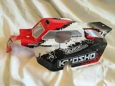 KYOSHO INFERNO NEO 2, NEO, New Red & Black Body Shell TYPE 3 + decals, IFB112T3