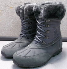 WEST GRAY LMDSTBT90 Women's Shoes Size 7 M Suede and Fur Boots Mephisto