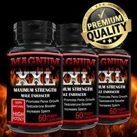 Magnum XXL Male Enhancer Capsules Thicker Bigger Last Longer Better Tribulus