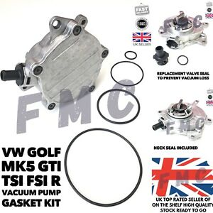 VW GOLF MK 5 2.0T GTI FSI R TFSI Vacuum Pump Gasket Seal Kit Volkswagen MK6