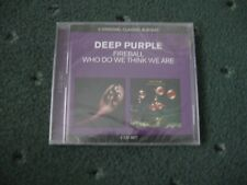 Deep Purple 2CD Fireball / Who Do We Think We Are -  New Sealed