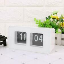 Vintage Auto Flip Clock Simple Desk Down Page Clocks Digital Table Clock Modern