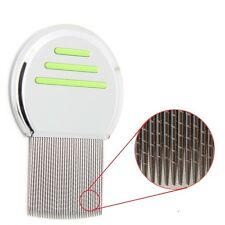 New Get Rid of Head Lice Nit with our Long Steel Teeth Metal Comb FREE S&H Green