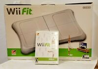 Wii Nintendo Fit Balance Board and DVD Bundle New Open Box