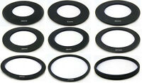 Metal Adapter Ring Filter Holder 49/52/55/58/62/67/72/77/82MM for Cokin P Serie