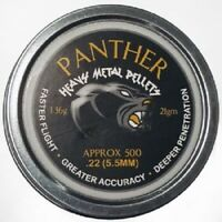 AirForceOne® PANTHER HEAVY Domed .22/5.5mm Airgun Pellets (500ct) Free P & P