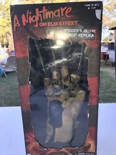 "FREDDY KRUEGER GLOVE A Nightmare on Elm St 1984 Movie 15"" Prop Replica Neca 2019"