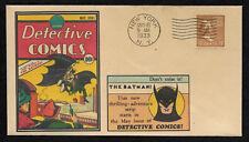 Detective Comics 27 Batman Featured on Collector's Envelope *OP245