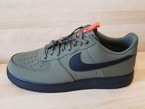 Nike Air Force 1 Low '07 size 16 Medium Olive Starfish Black  BQ4326-200  Shoes