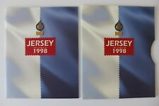 Jersey 1998 Stamps  Days Gone  Tiger Fish Buses  Year Pack / Book with Slip Case