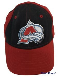 Colorado Avalanche NHL Team Hat Cap New Era Cap 4940 Sz 6 7/8 Preowned Red/Black