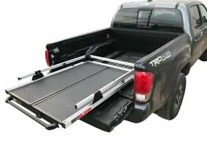 Fits Toyota Tacoma 16-17 5 Foot Bed No-Drill Factory Mount Install Kit Bedslide