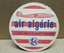 SOUS-BOCK ancien AIR ALGERIE double face