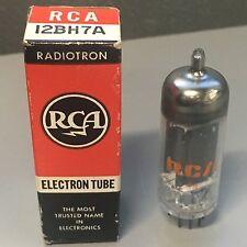 VINTAGE RCA AMP TUBES 12BH7A AUDIO TUBE - FREE SHIPPING