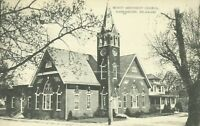 1940 Trinity Methodist Church Harrington Kent County Delaware Postcard