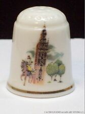 Porcelain Thimble Sevilla Spain Seville Cathedral Giralda Bell Tower