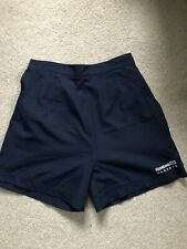 Reebok Vintage Navy Tennis Shorts, Fully Lined With Cotton Fabric (UK10-12/VGC)