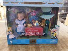 Kelly & Tommy AS Alice & Mad Hatter - Barbie Collector Dolls Ken Disney 2002