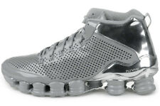 2014 Nike Shox TLX Mid SP Silver chrome UK 8 US 9 NZ 677737- 3ea9161c6