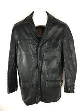Mens vintage 50's 60's Mister Leather Atomic Sportswear Leatherwear Jacket Coat