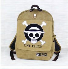 Anime One Piece Straw Hat Pirate Luffy Cosplay Backpack Schoolbag Shoulder Bag
