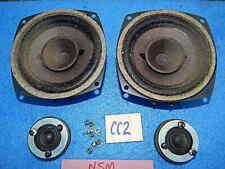 Nsm Prestige Es160 Cabinet Speakers Upper 12 cm & 3 cm - 8.0 ohm - two pair