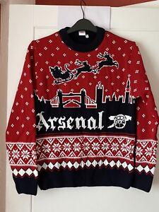 K5 Ladies Arsenal Christmas Jumper Uk10