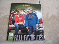 Cabela's Fall Favorites 2014 Product Catalog 40-Page Full Color