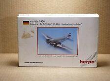 Herpa N°1900 Junkers Ju 52/3M D-Abik Manfred Von Richthofen 1/160 in Box /