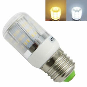 E27/E26 LED Light Bulb 12V-24V 4W 78-3014 SMD Corn light Warm White /White ST