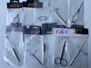 Fliegenbindematerial Werkzeug Bobbin Whip Finisher Hechelklemme Dubbing Set F16