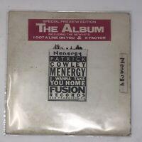 Patrick Cowley Menergy LP Vinyl Record Original Pressing 1983 Rare Disco Promo